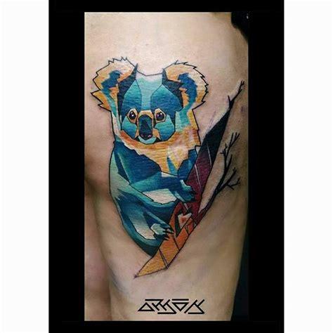 geometric koala tattoo 25 best ideas about koala tattoo on pinterest henna