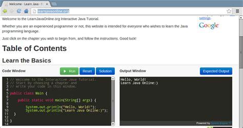 pattern java online java buddy learn java online free interactive java tutorial