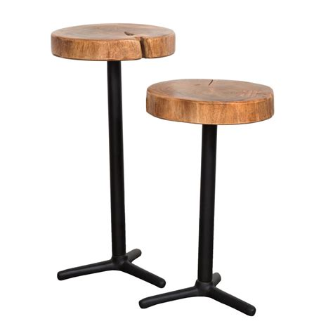 martini tables eclectic lh imports organic martini tables set of 2