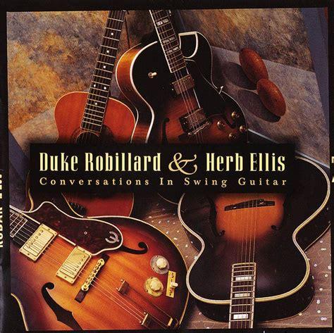 guitar swing duke robillard herb ellis conversations in swing