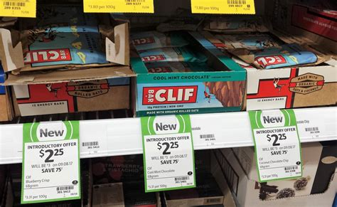 Clif Bar Shelf by New On The Shelf At Coles 23rd August 2017 New