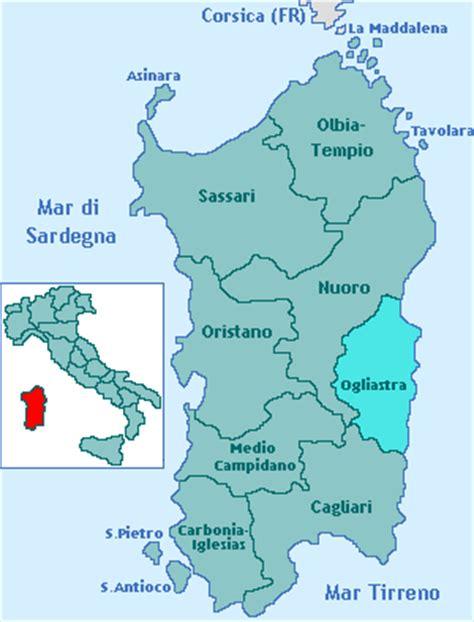 di sassari nuoro provincia dell ogliastra regione sardegna