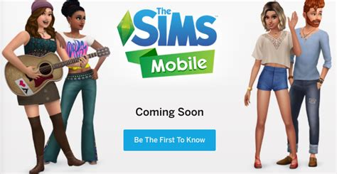 mobile phone sims the sims mobile is coming to ios and it ll be freemium