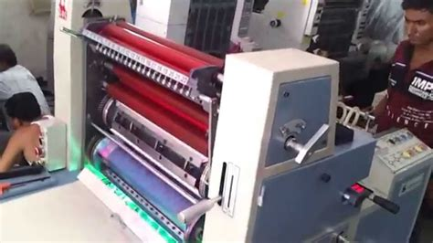 paper bag printer machine plastic bag offset printing machine