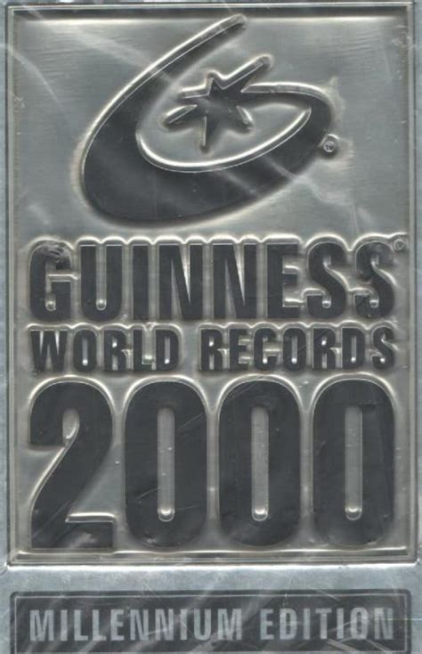 guinness world records 2000 0851120989 entertainment guinness world records 2000 millennium editon was listed for r100 00 on 4 apr at