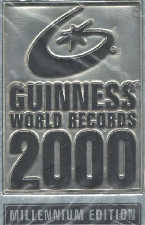 guinness world records 2000 entertainment guinness world records 2000 millennium