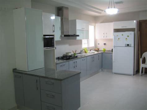 meuble d 騅ier de cuisine cuisine en mdf stratifi 233 meubles et d 233 coration tunisie