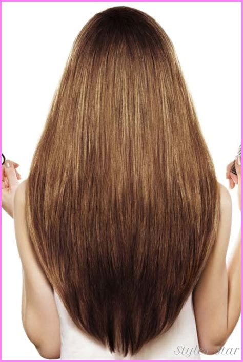 haircut shape layer cut for long hair back view stylesstar com