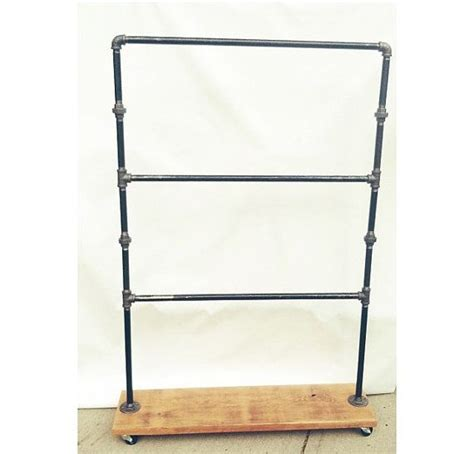 Bar Display Rack by Industrial Retail Display Three Bar Rack For
