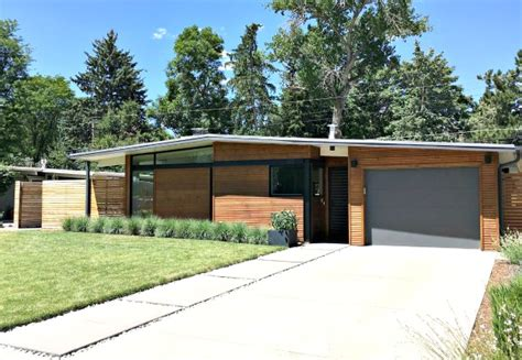 denver mid century modern homes capture a new generation