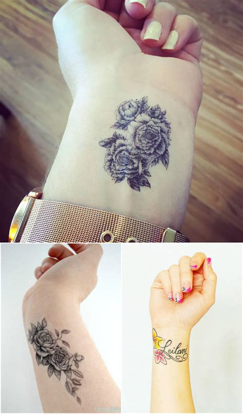 best tattoo flower designs highly and sensational wrist designs top