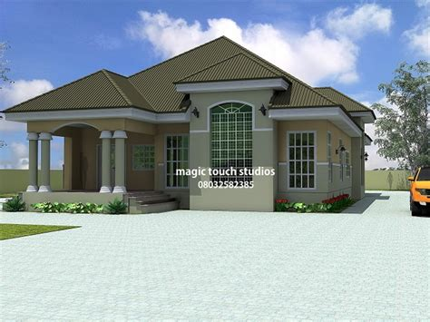 house plans bungalow 5 bedroom bungalow house plan in nigeria 5 bedroom