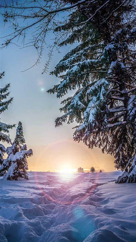 winter wonderland iphone wallpapers  preppy