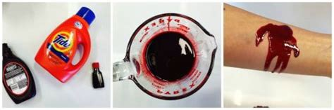 kristine brabson how to make realistic fake blood for halloween easy