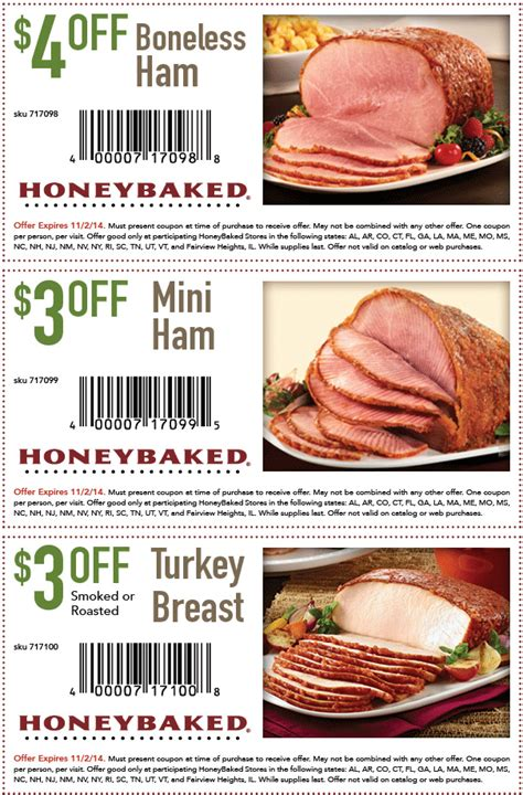 honey baked ham coupons 2013 honeybaked ham coupons 2017 2018 best car reviews
