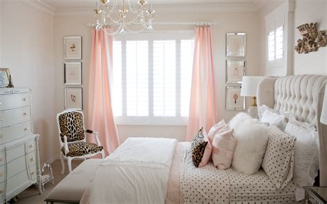 And Bedroom by Pink And Gold S Bedroom Makeover Randi Garrett Design