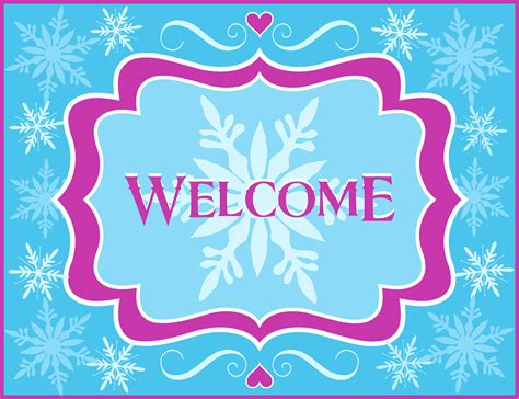 welcome banner template free best samples templates