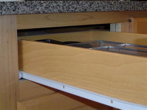 kitchen cabinet drawer guides unique cabinet slides 13 kitchen cabinet drawer slides