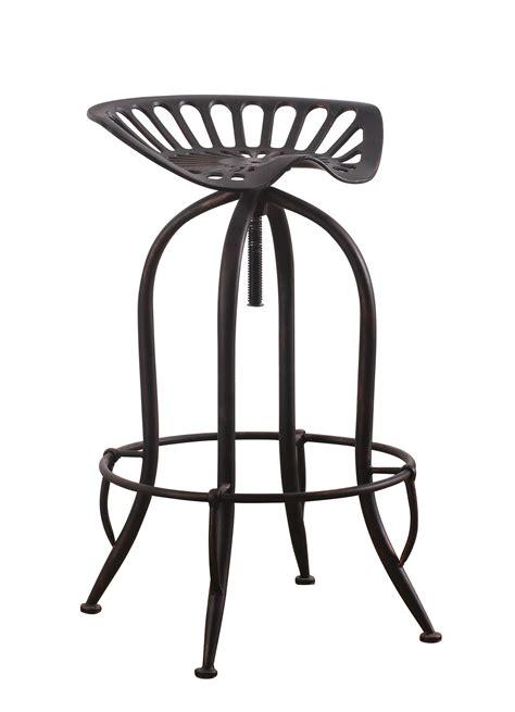 Antique Black Bar Stools by Coaster 104949 Rec Room Bar Stool In Antique Black
