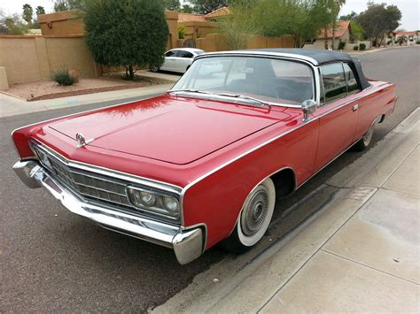1966 Chrysler Imperial Convertible by Daily Turismo 10k Survivor 1966 Chrysler Imperial Crown