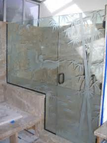Bathroom Vanity Set With Mirror by Decorative Glass For The Bathroom Adds A Custom Flair
