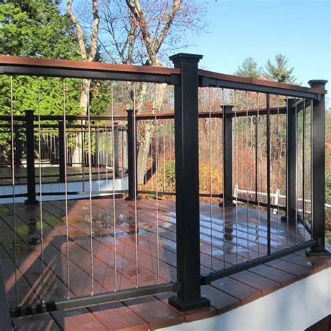 the new fortress vertical cable railing panel system