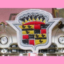 cadillac patch coat  arms garageland