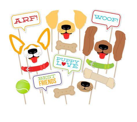 printable puppy dog photo props dog photo booth props dog printable puppy dog photo props dog photo booth props dog