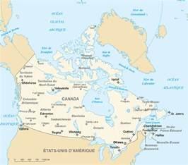 carte du canada en francais
