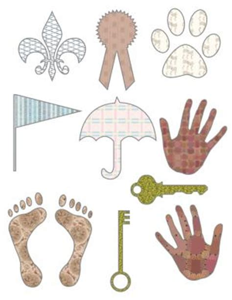printable shapes for scrapbooking free scrapbook cutouts lovetoknow