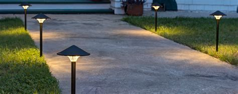 low voltage outdoor path lighting fixtures led light design led walkway lights 120 volt kichler path