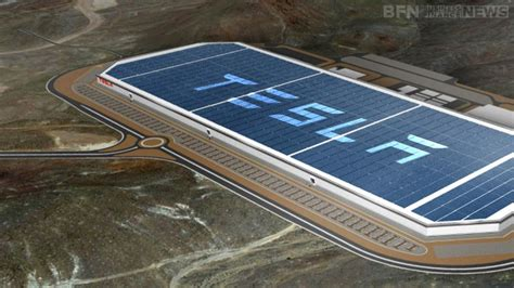New Tesla Factory Tesla Gigafactory Begins Mass Battery Cell Production