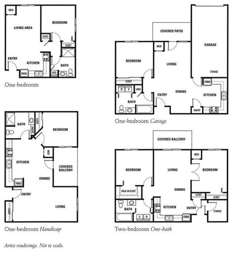 floor plans retirement independent assisted living