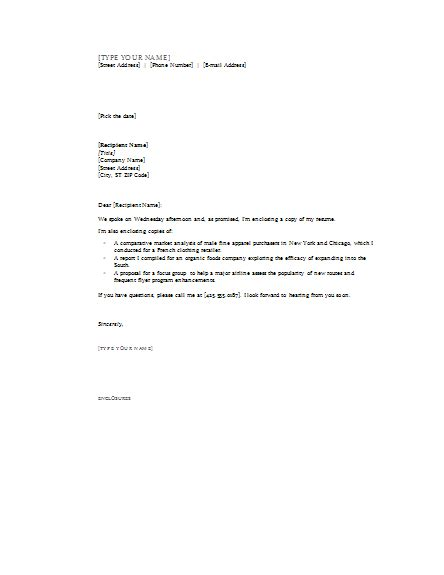 business cover letter with enclosure cover letter with enclosures cover letters templates