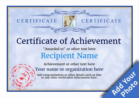 certificate of accomplishment template free certificate of accomplishment template free templates data
