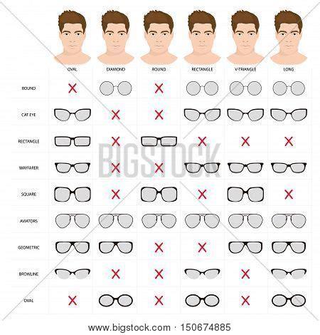 right glasses mans shape vector photo bigstock