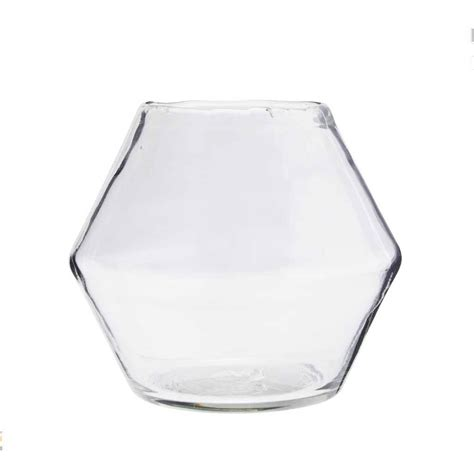 glass bowl vase by posh totty designs interiors