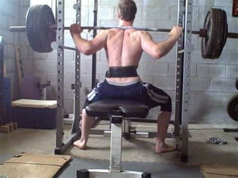 bench squat bench squats 2 quot 3 quot high boxes youtube