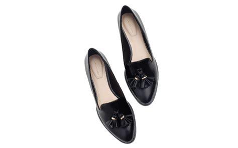 Sepatu Zara Nr01 Hitam 22 til sempurna dengan rumbai modis