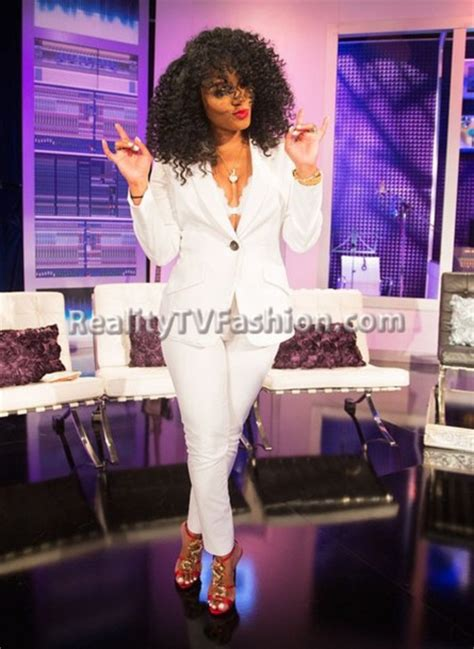 rasheeda short curly love and hip hop jumpsuit rasheedalhhatl women s suit blazer rasheeda