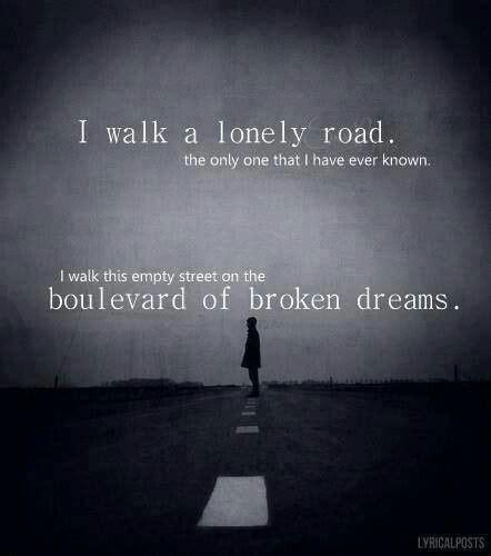 boulevard of broken dreams green day karoke green day lyrics i love pinterest songs music life
