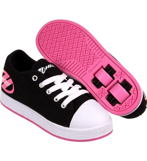 heelys shoes for sale heelys x2 fresh black pink for sale shoes and pink