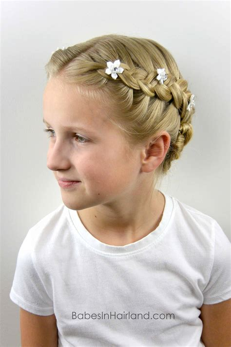 braided baptism hairstyle in hairland