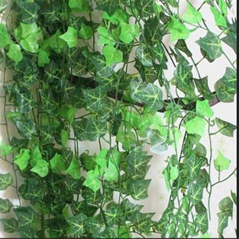 Decorative Vine Flowers 2 5m artificial leaf garland plants vine foliage flowers home decor plastic artificial