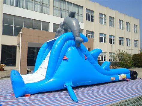 inflatable dolphin slide supplier inflatable slides for