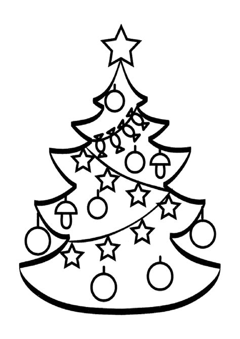 Tree Topper Coloring Page Christmas Tree Coloring Pages For Childrens Printable For Free by Tree Topper Coloring Page