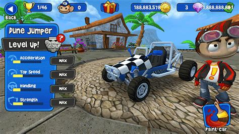 download game mod bb racing beach buggy racing all versions save game cheats iosgods