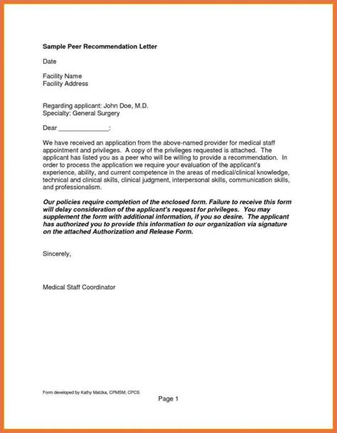 Reference Letter Pattern exle of reference letter template business