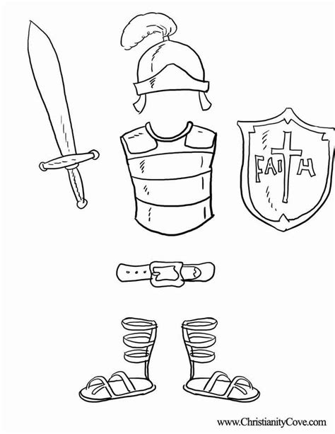 God Is My Shield Coloring Page armor of god coloring pages coloring home