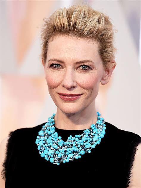 Get The Look Cate Blanchetts Feathered Tresses 2 by Cate Blanchett Says The Obsession With Social Media Is